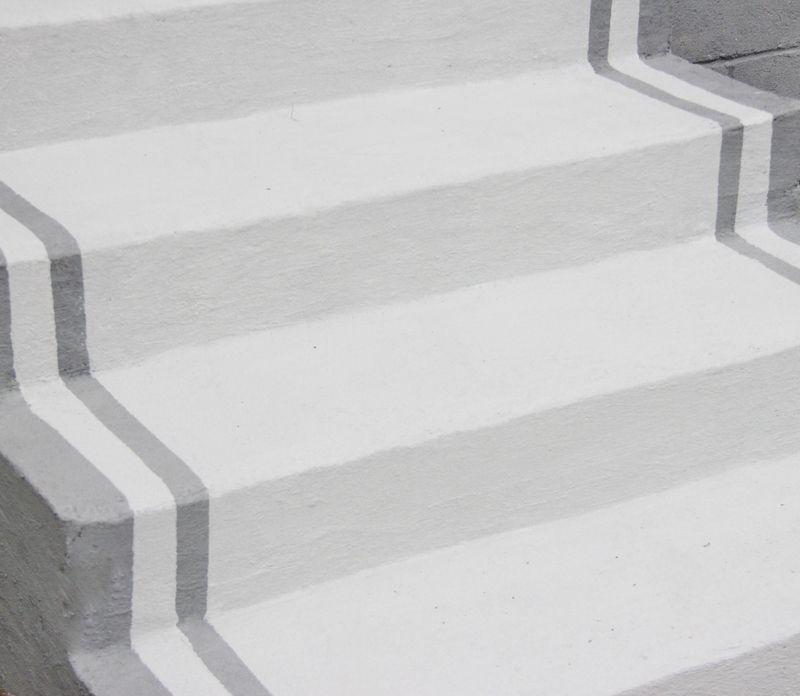 The Gatehouse Curb Appeal Ideas Thistlewood Farm Painted Concrete Steps Paint Concrete Patio Painting Concrete