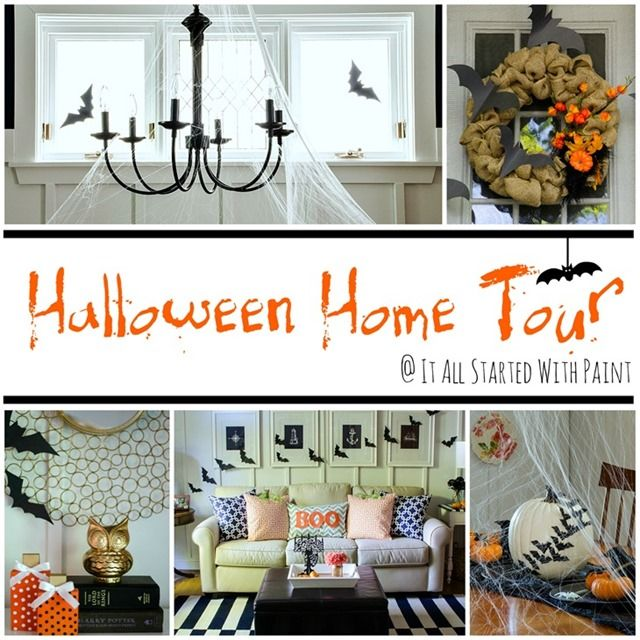 Home Tour Holidays halloween and Halloween ideas - halloween decoration ideas home