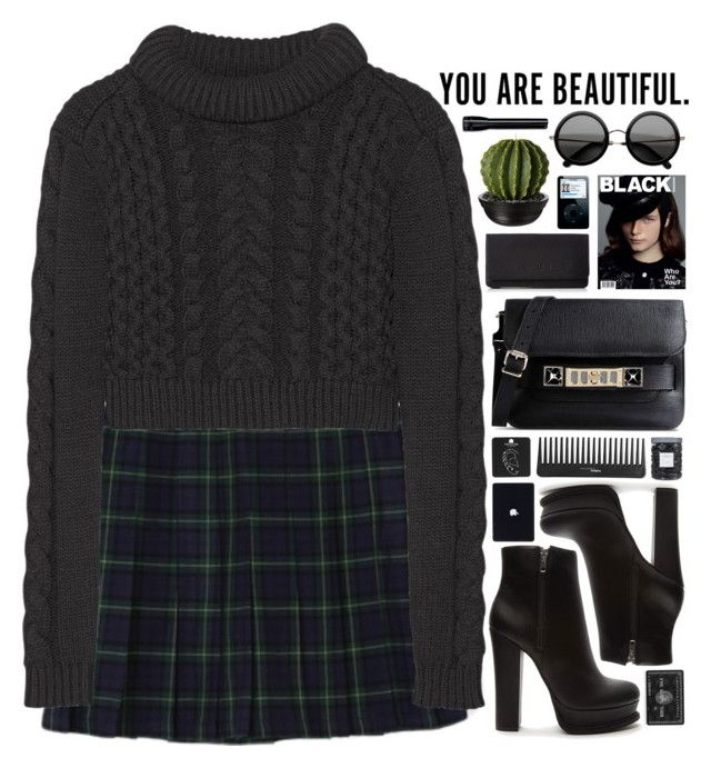 """..."" by alex-fox1 ❤ liked on Polyvore featuring moda, Forever 21, Liebeskind, TIBI, Topshop, Sephora Collection, Threshold i Proenza Schouler"