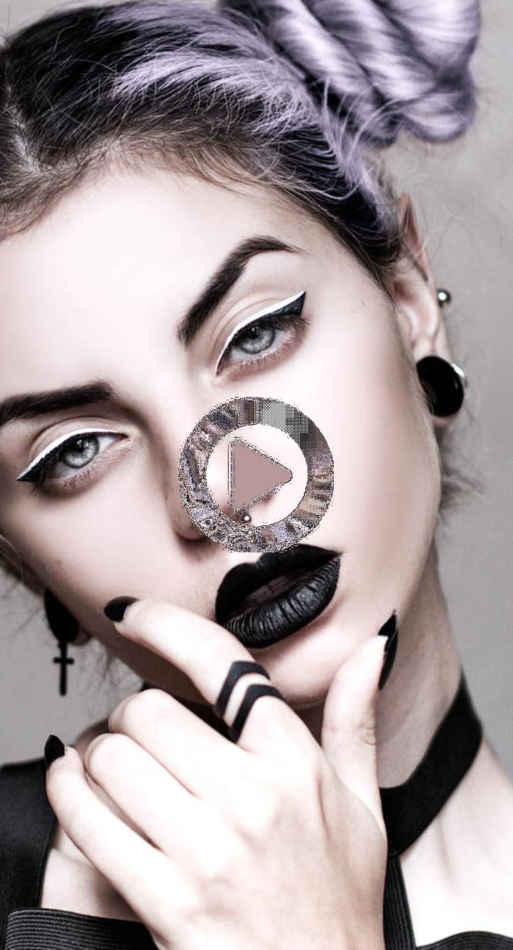 Miten Alkaa Dressing Goth Eika Pelota Your Mother In 2020 Pastel Goth Makeup Goth Makeup Tutorial Makeup