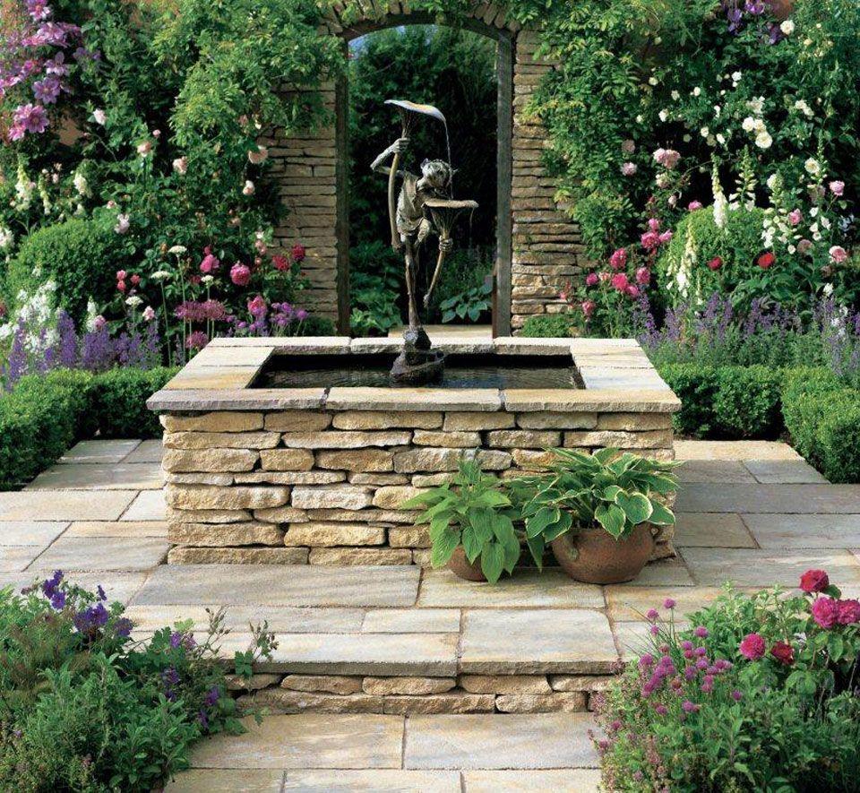 limestone garden - Google Search   Outdoor ❤   Pinterest ...
