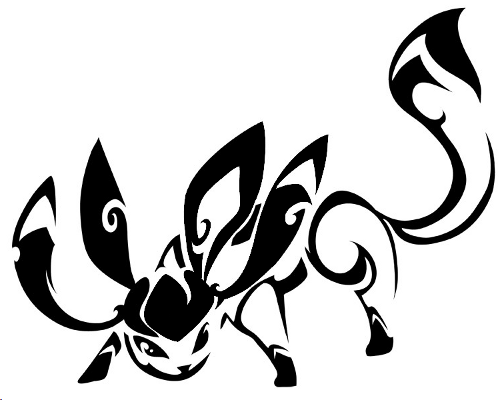 Fanart Glaziola Pokémon Fanart Kunst Tribal Pokemon Pokémon