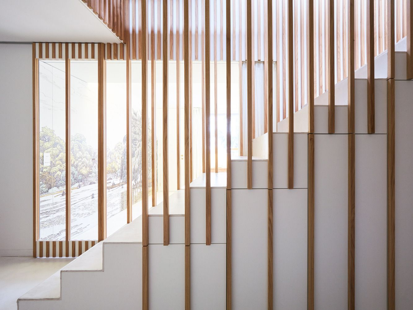 Gallery Of Attic Reform In Paris 05 Am Arquitectura 14 In 2020 Stairs Ceiling Design Bedroom House Staircase