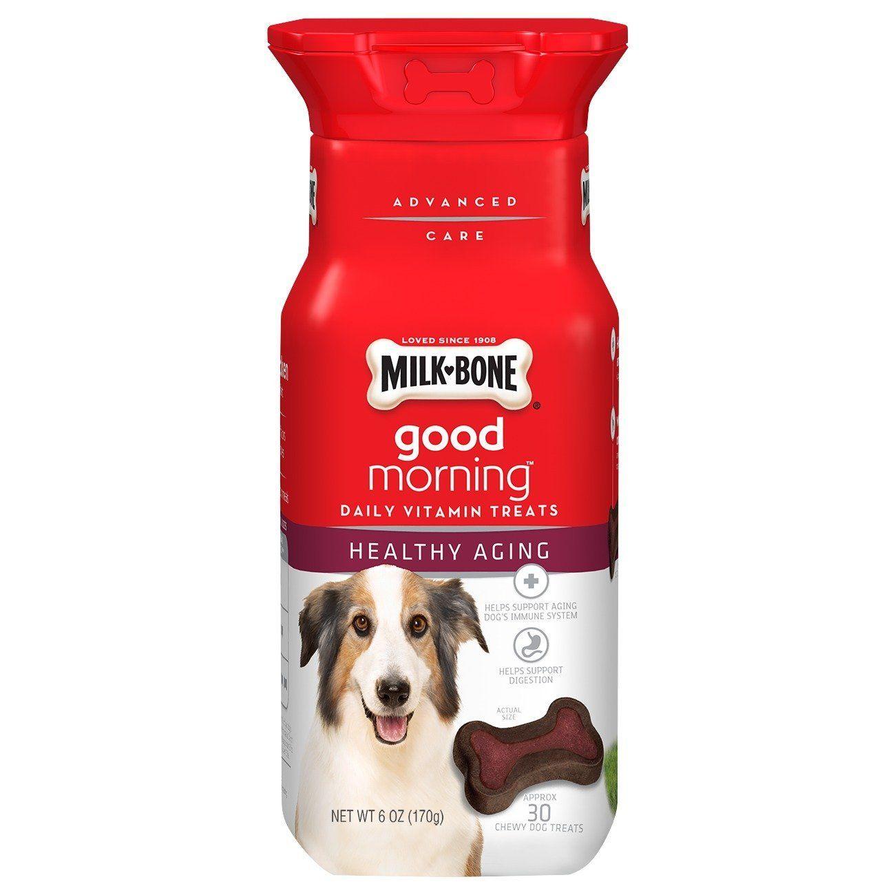 Milkbone good morning daily vitamin dog treats check