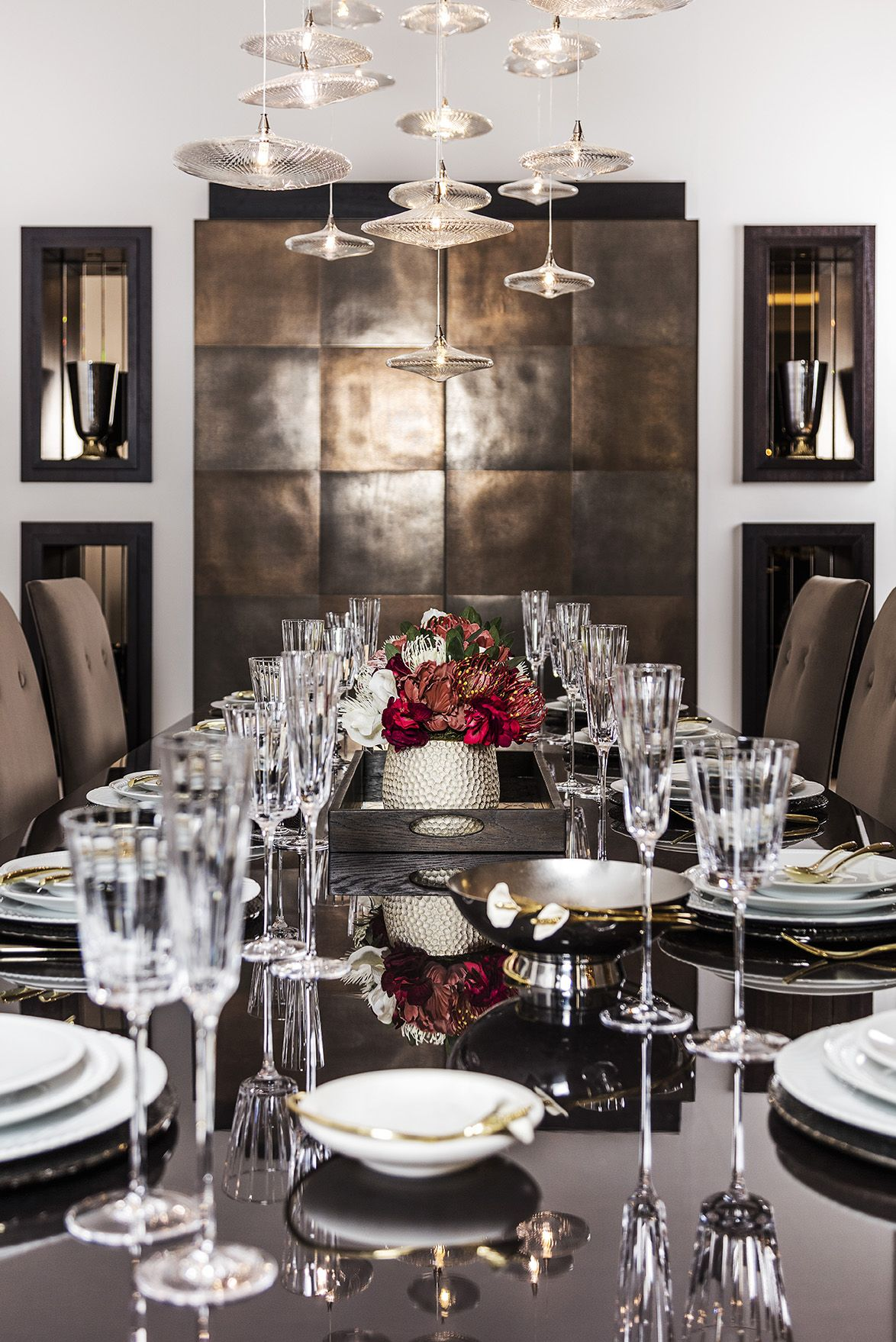 LUXURY FORMAL DINING ROOM TABLE & CHAIRS. Get the look ...