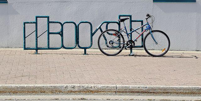 Bikes AND books!