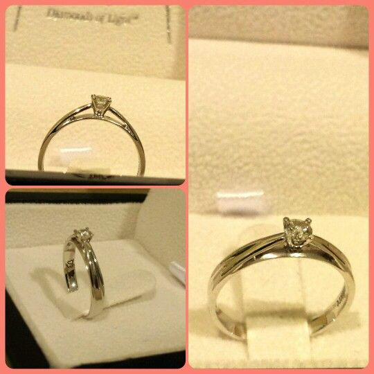 He Proposed Roundcut Engagement Ring Classyring Tomei
