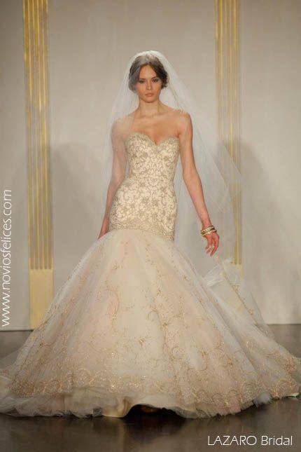 Lazaro bridal vestidos novia | wedding time <3 | Pinterest | Weddings