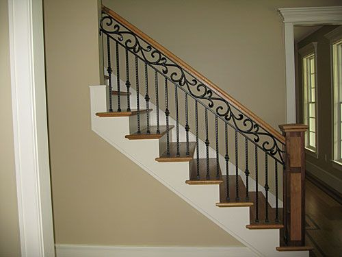 Top Scroll Wrought Iron Design