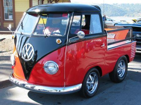 Short Bus Truck Custom Vw Vintage Old Volkswagen Clic Car Antique