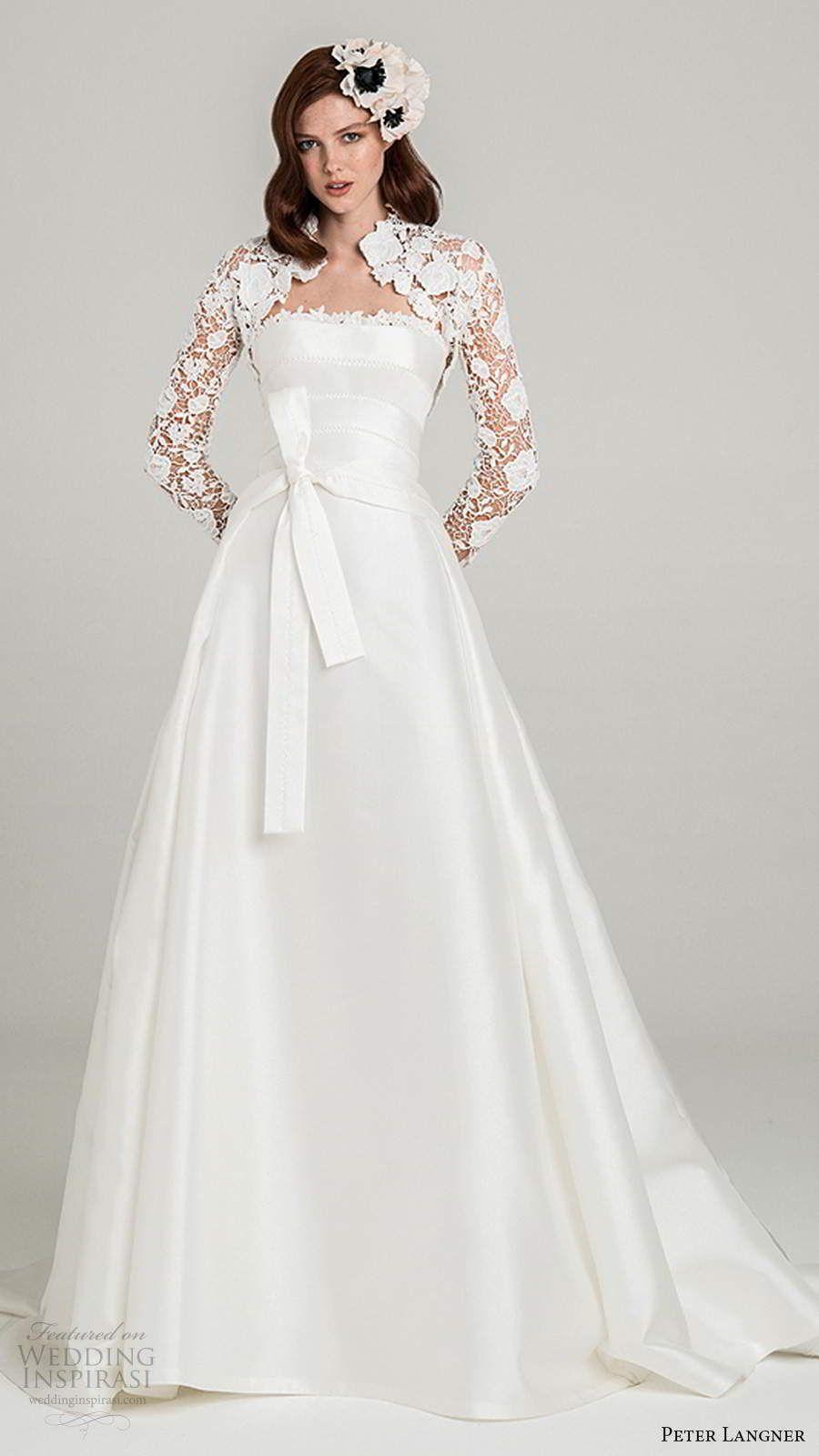 Peter Langner Fall 2020 Wedding Dresses
