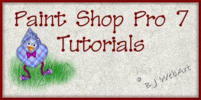 B J Webart Psp 7 Tutorial Index Tutorial Paint Shop Psp