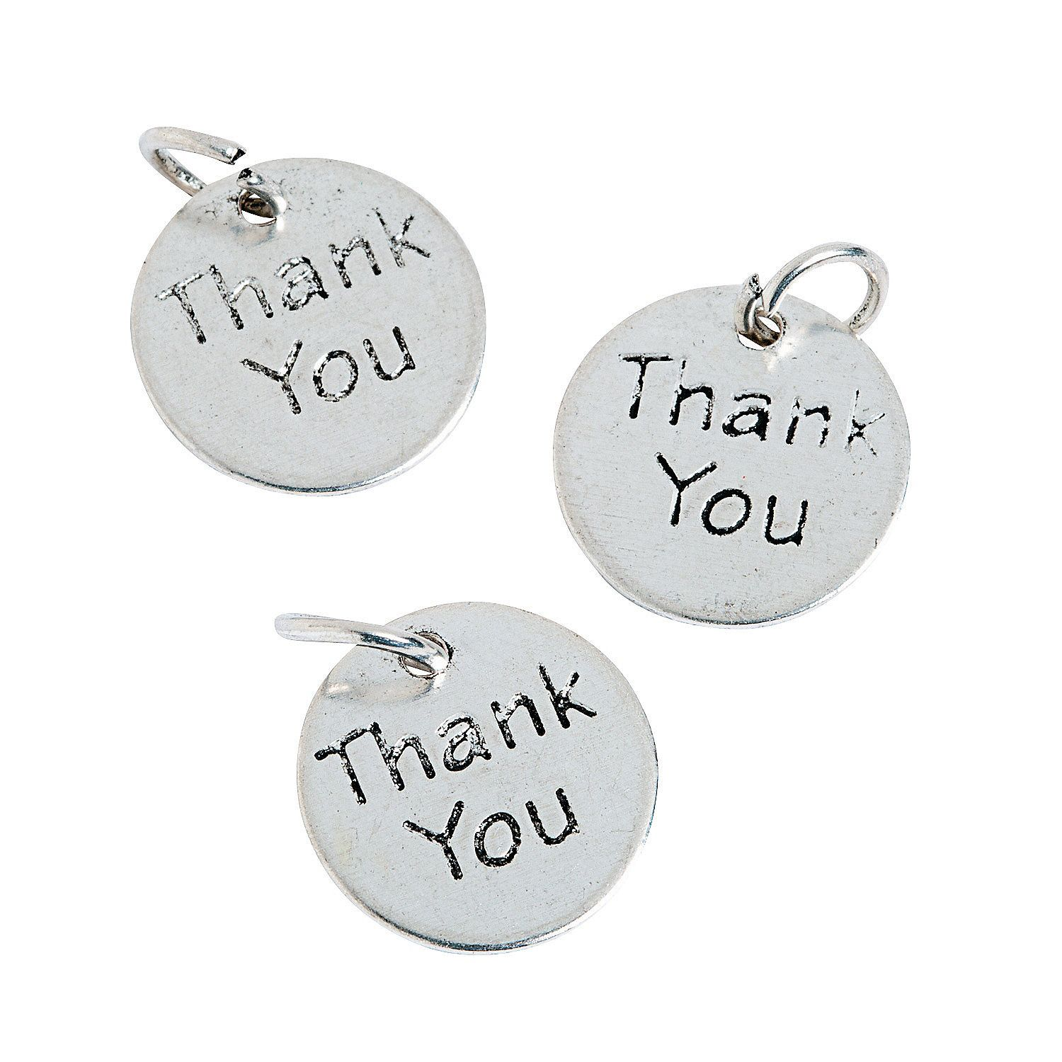 Thank You Charms   Wedding favor bags, Weddings and Favors