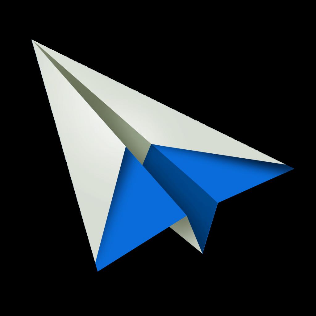Paper Plane Png Image Paper Plane Christmas Stickers Fashion Logo Design