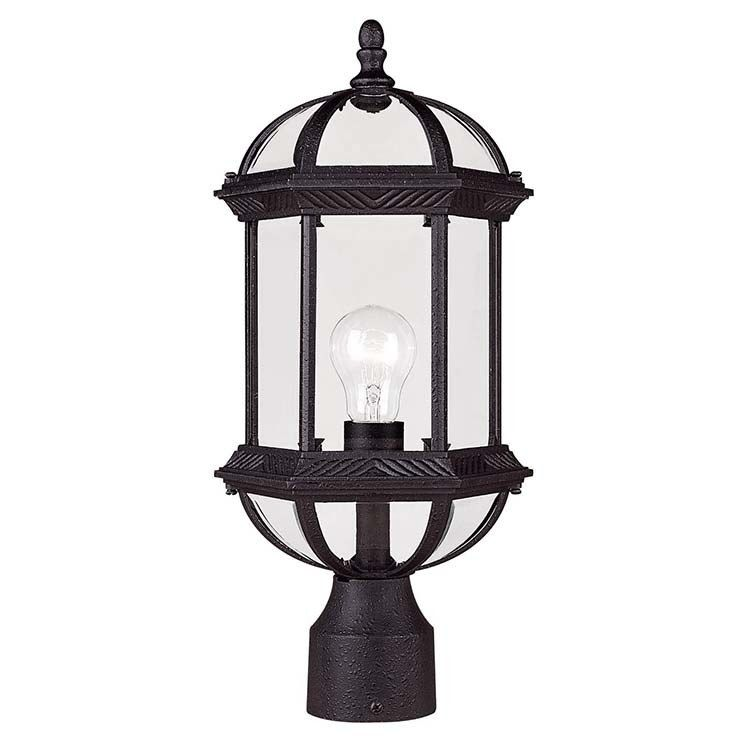 Kensington Single Light Outdoor Post Lantern Outdoor Post Lights Post Lights Exterior Light Fixtures