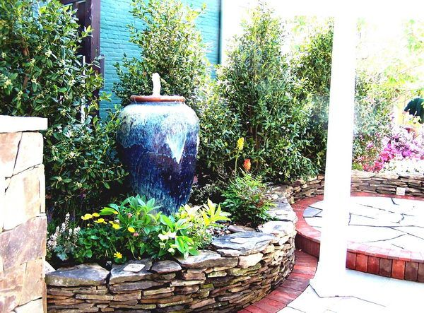 40 Great Water Fountain Designs For Home Landscape Fountain design