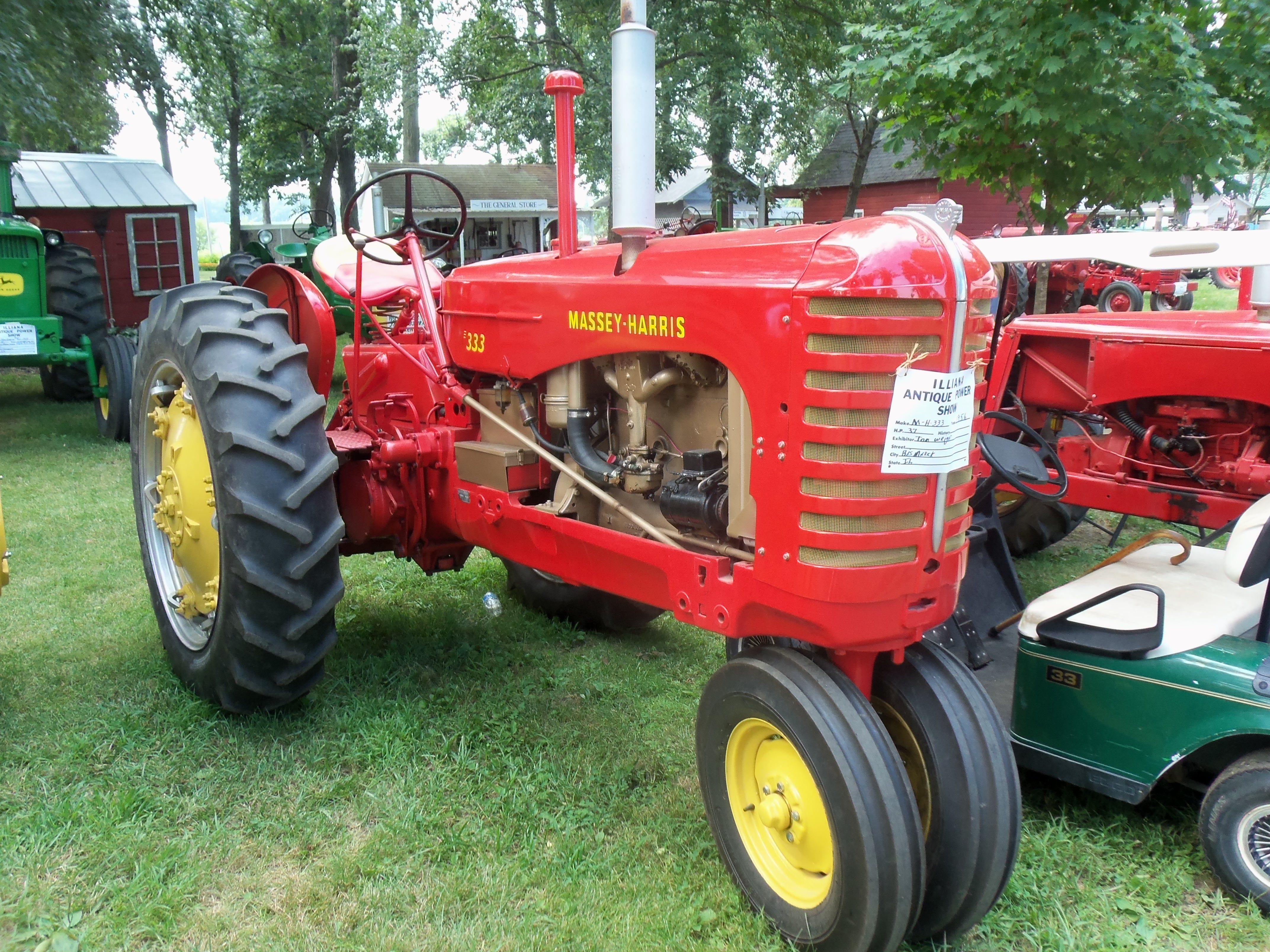 Massey Harris Tractor : Massey harris ferguson pinterest