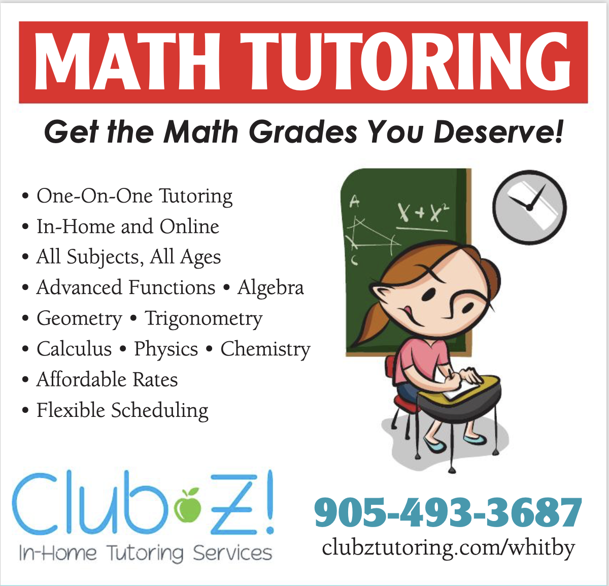 Math Tutoring Advanced Functions Calculus Trigonometry And More