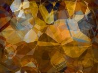 Seamless Abstract Background Gold