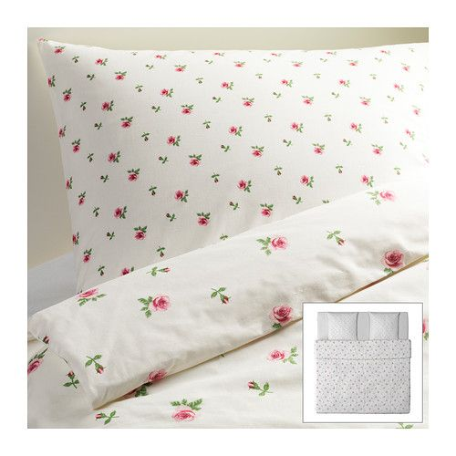 housse de couette fleurie bedroom ikea duvet cover. Black Bedroom Furniture Sets. Home Design Ideas