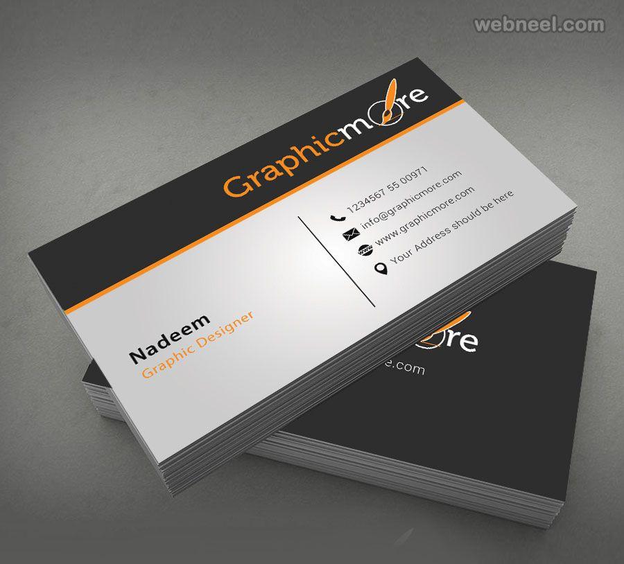 50 Creative Corporate Business Card Design Examples Design