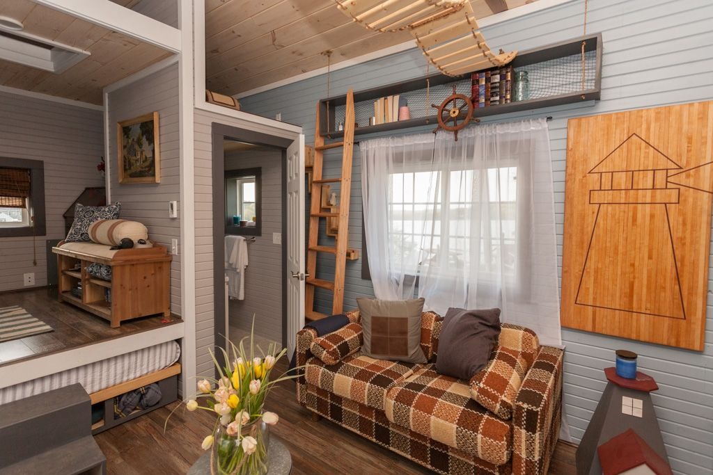 Tiny Lighthouse A 200 Sq Ft Tiny Home Featured On Season