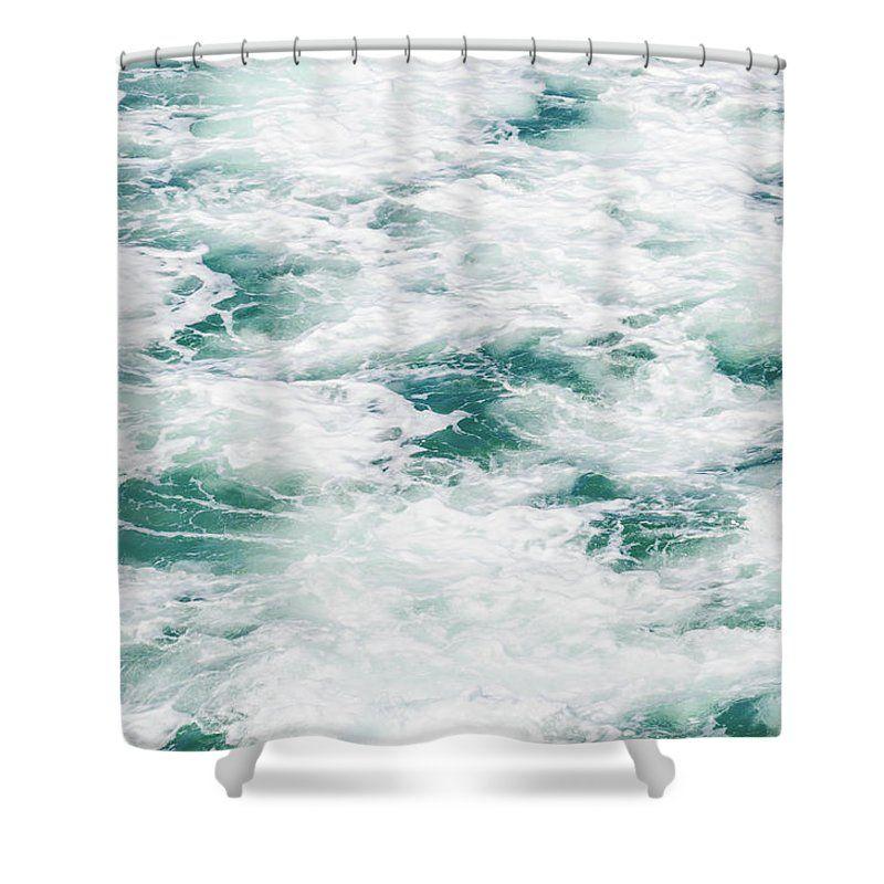 Marble Ocean Water By Elena Chukhlebova Shower Curtain featuring the photograph Marble Ocean Water by Elena Chukhlebova #showercurtain #ocean #water #bathdecor #elenachukhlebova
