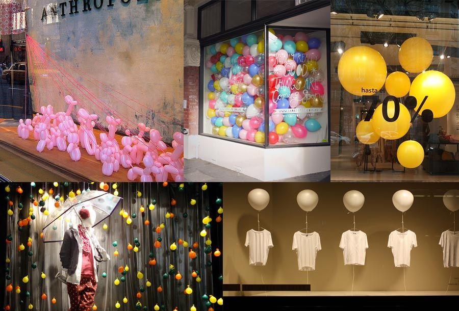 Escaparates globos escaparates pinterest escaparate - Como hacer un escaparate ...