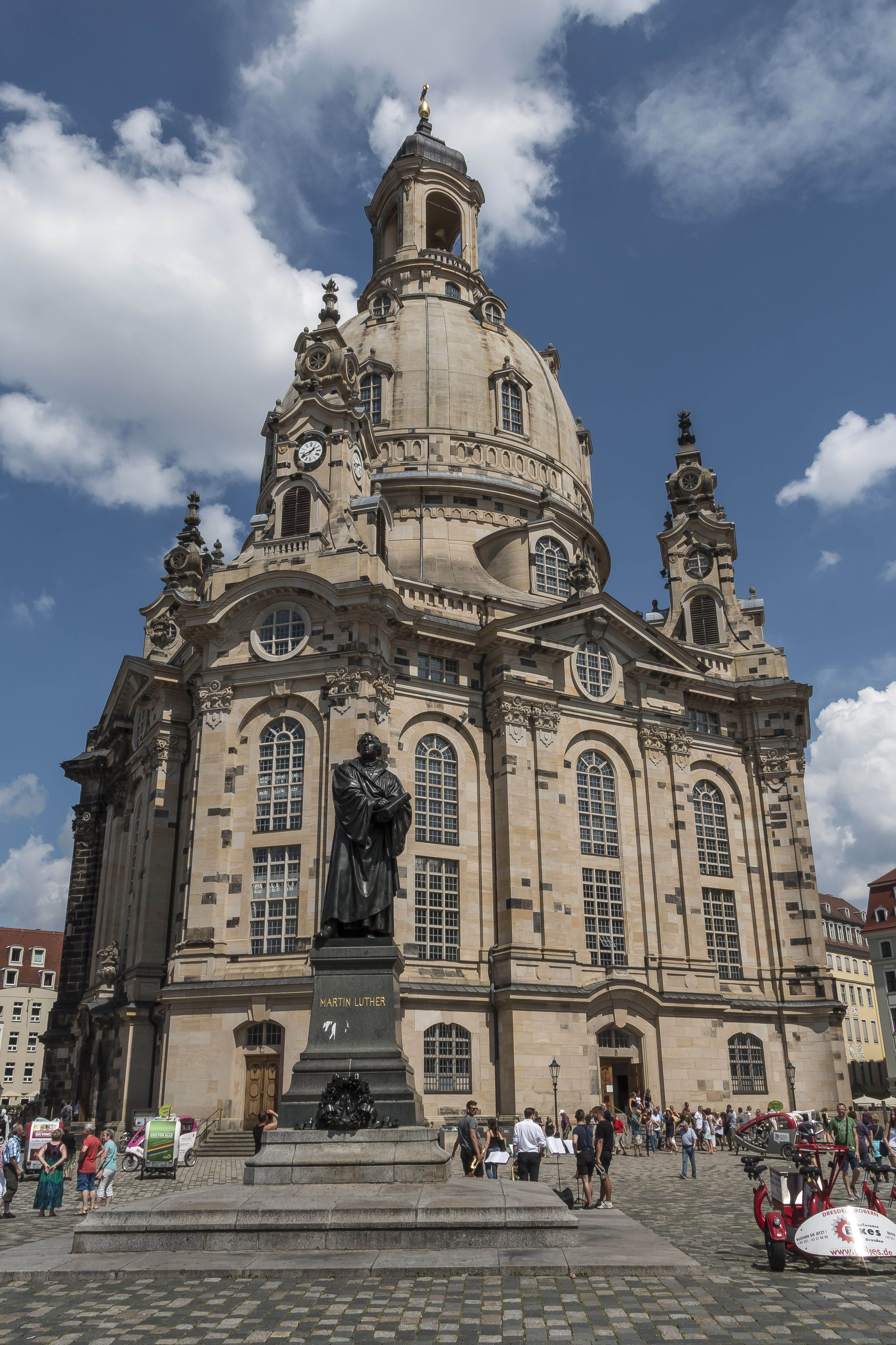 Frauenkirche Dresden Barcelona Cathedral Landmarks Cathedral