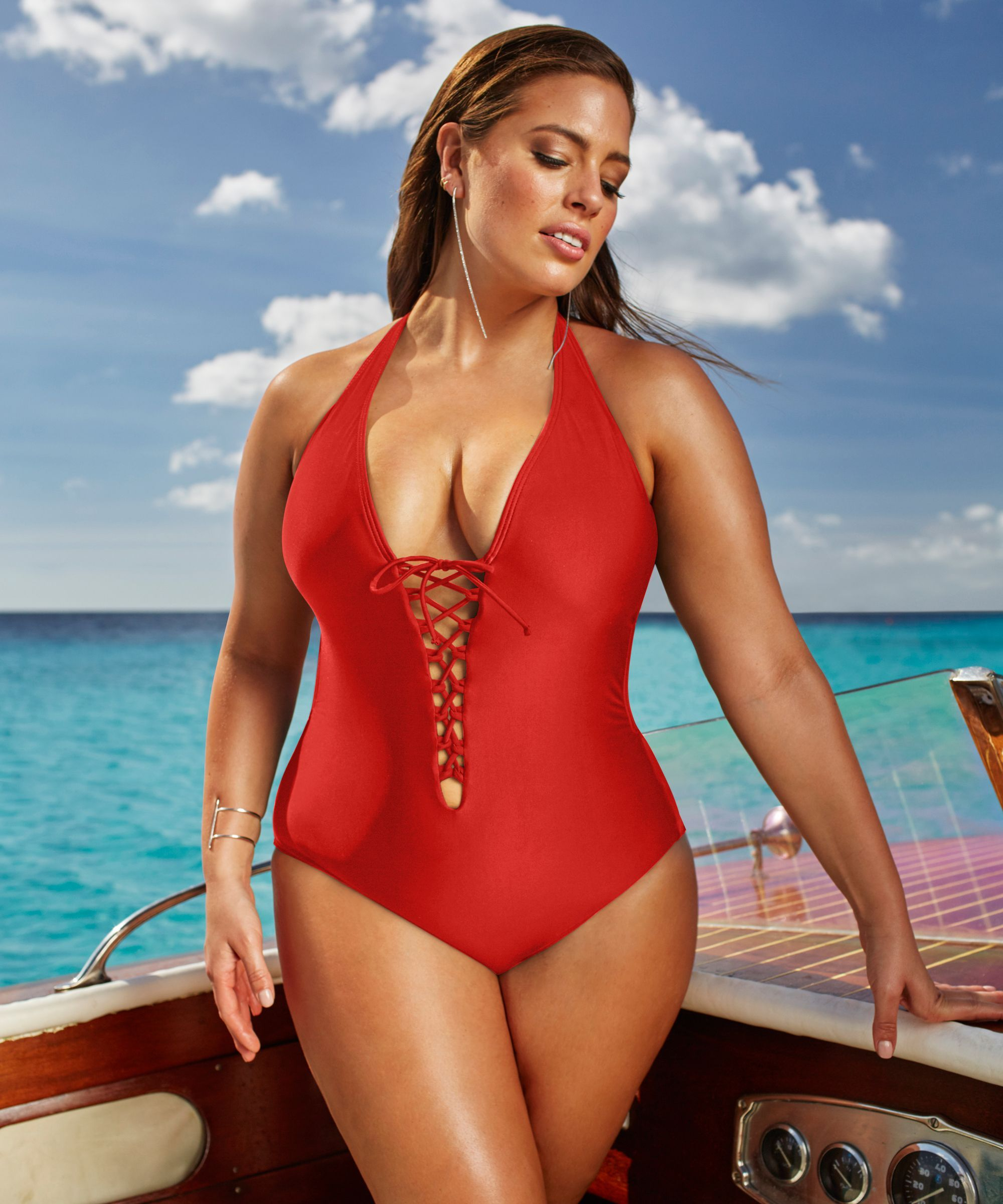 75e3fe784a8 Plus Size Swimwear Female Polka Print One Piece Swimsuit Women Vintage  Bathing One-Piece Suits 2016 Retro Large Size Swimsuit