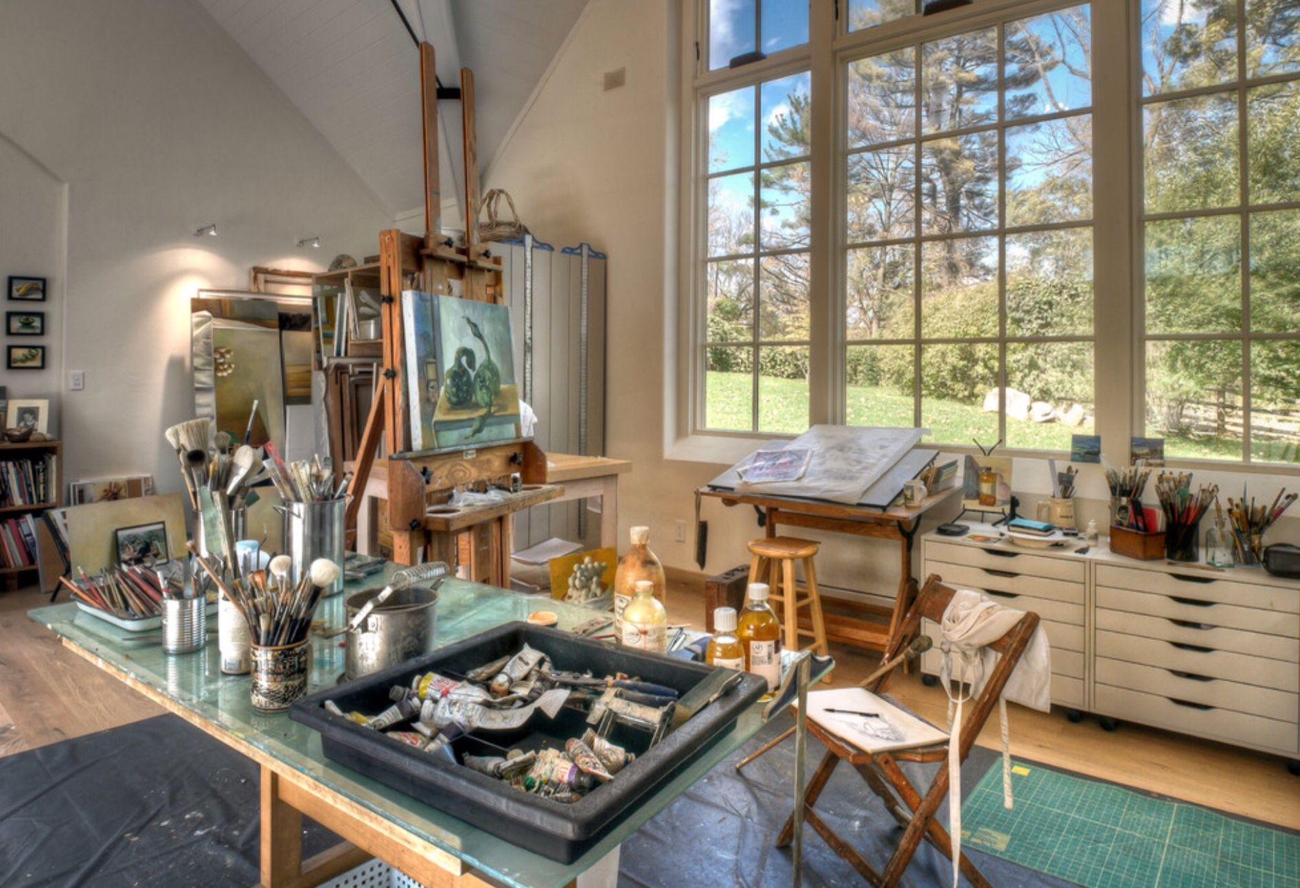 4eec8a7d222 artist studio in countryside