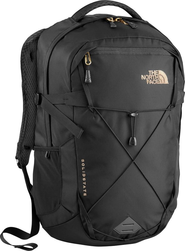 bf4bca05ad2 The North Face - Women's Solid State Laptop Backpack - Black/Rose ...