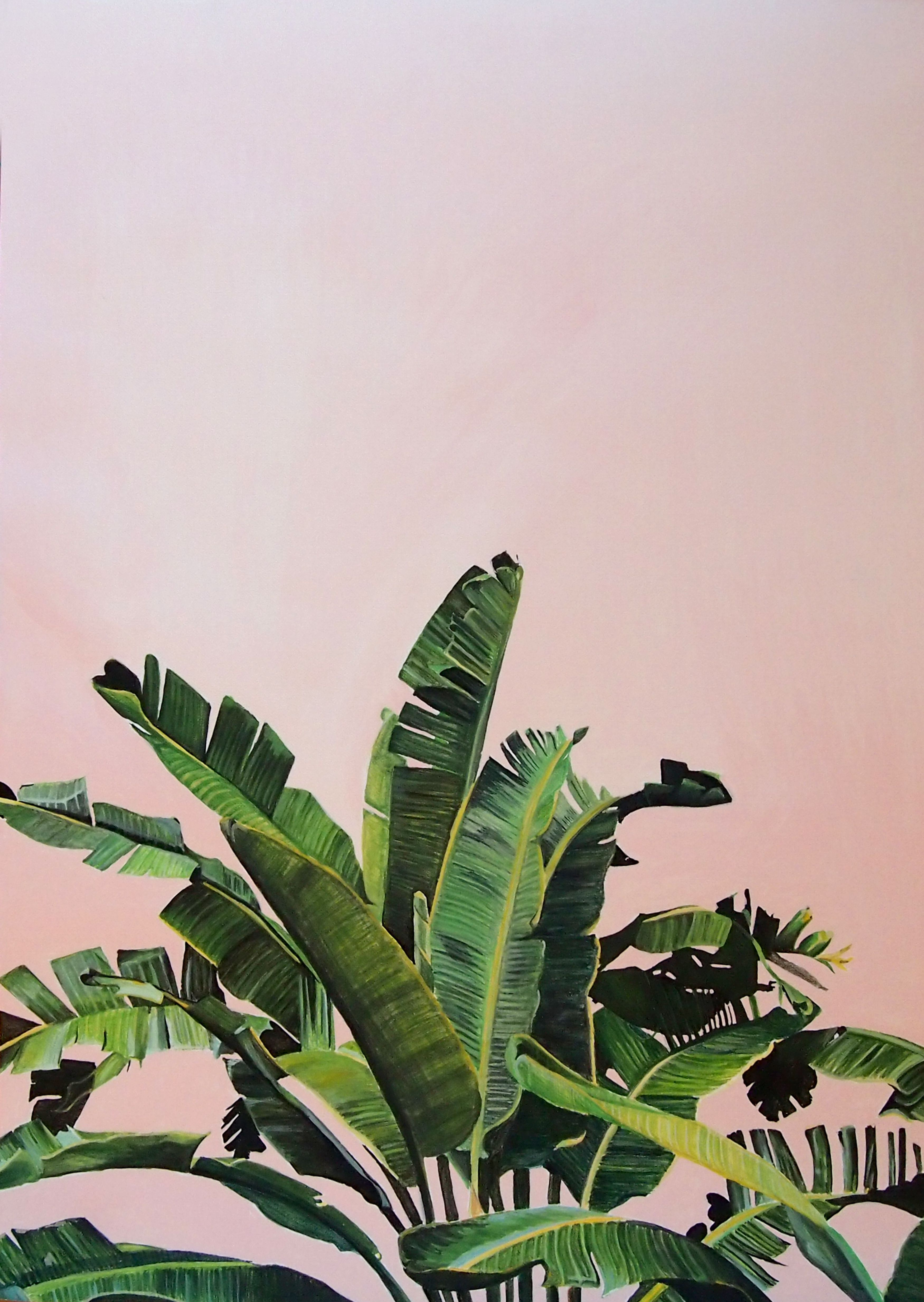 Best Kitchen Gallery: Palm Leaves In Gouache Painting Impresión Pinterest Gouache of Pink And Green Tropical Houseplants on rachelxblog.com