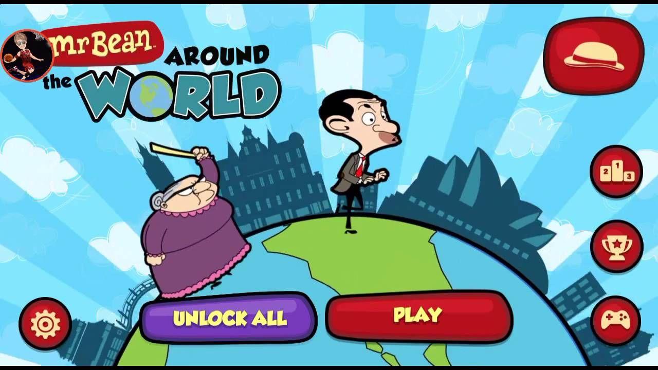 Mr Bean Superhero Around The World Cartoon Games | Gameplay Hd