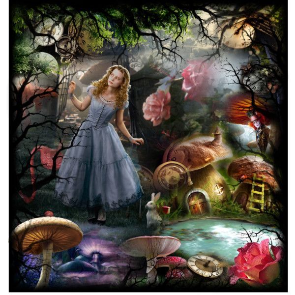 Tim Burtons Alice In Wonderland 2010  Inspiration -8793