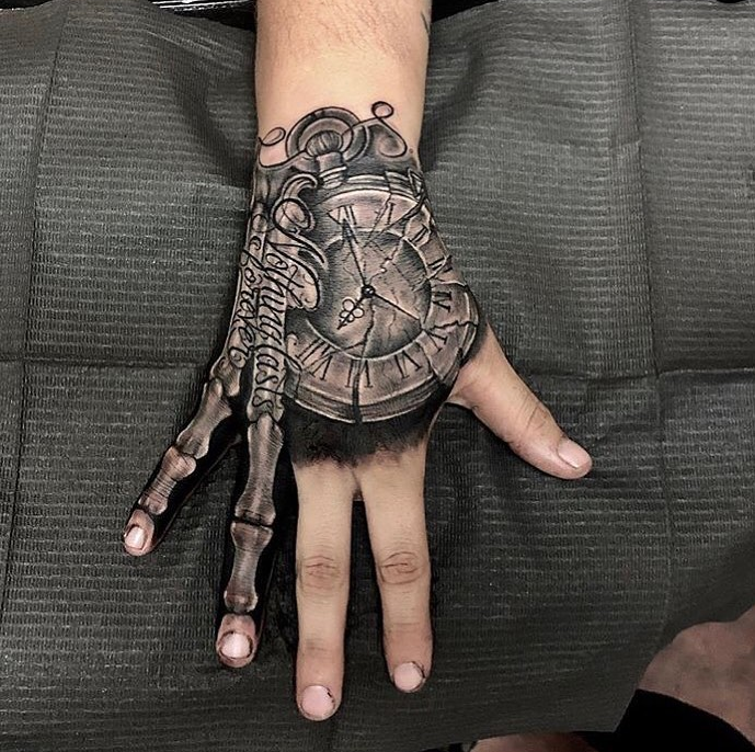 Rate This Hand Bones Tattoo 1 To 100 Tattoo Tattoos Smalltattoos Amazingtattoo Beautifultattoos Watercolortatt With Images Hand Tattoos For Guys Hand Tattoos Tattoos