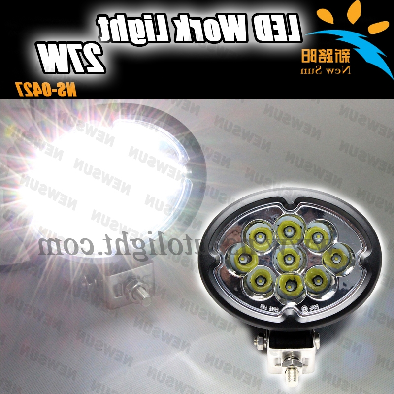 34.00$  Buy now - http://ali3bc.worldwells.pw/go.php?t=2023762294 - Environmental protection led working light 9pcs*3w 27W cree chips led driving light waterproof IP 68 for trucks offroad vehicles