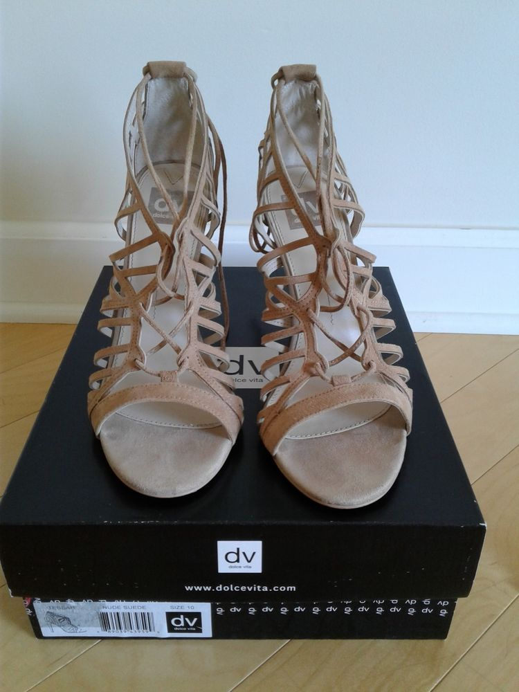 5245a2cc4d9 Heels by Dolce Vita Size 10 Tan Suede Lace Up Great Condition  fashion   clothing  shoes  accessories  womensshoes  heels (ebay link)