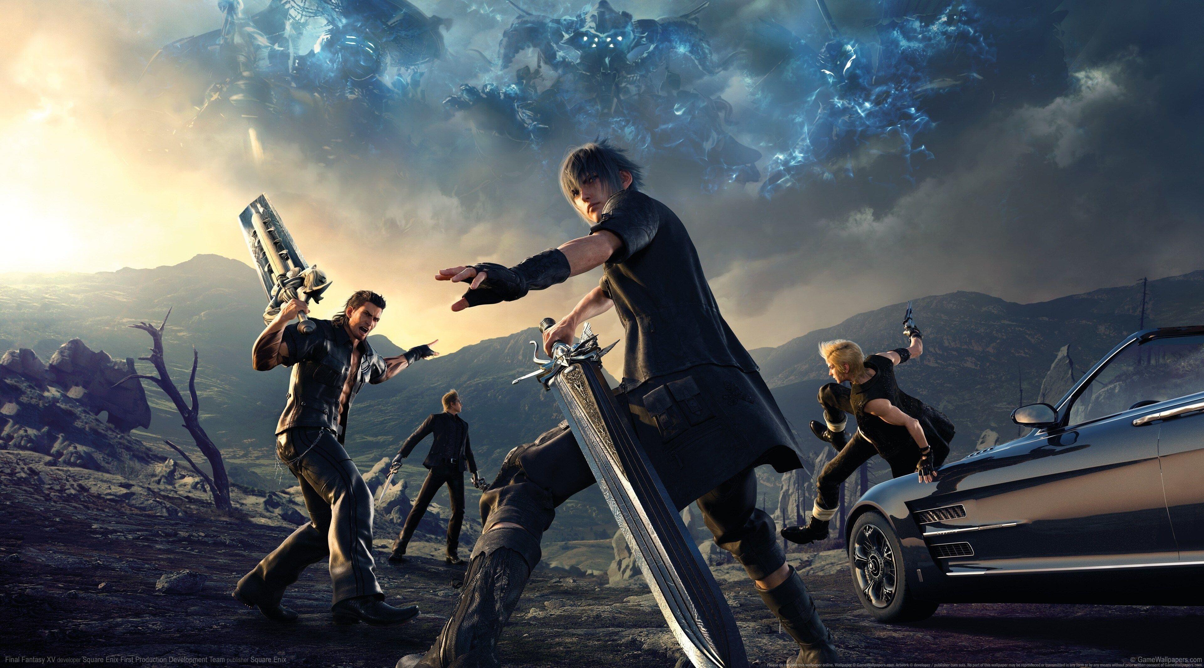3840x2130 Final Fantasy 15 4k Wallpaper For Desktop Background Final Fantasy Final Fantasy Vii Final