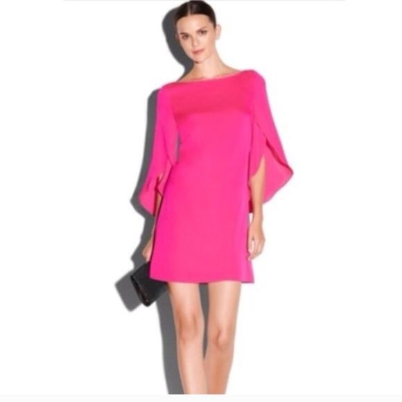 Milly cocktail dress pink