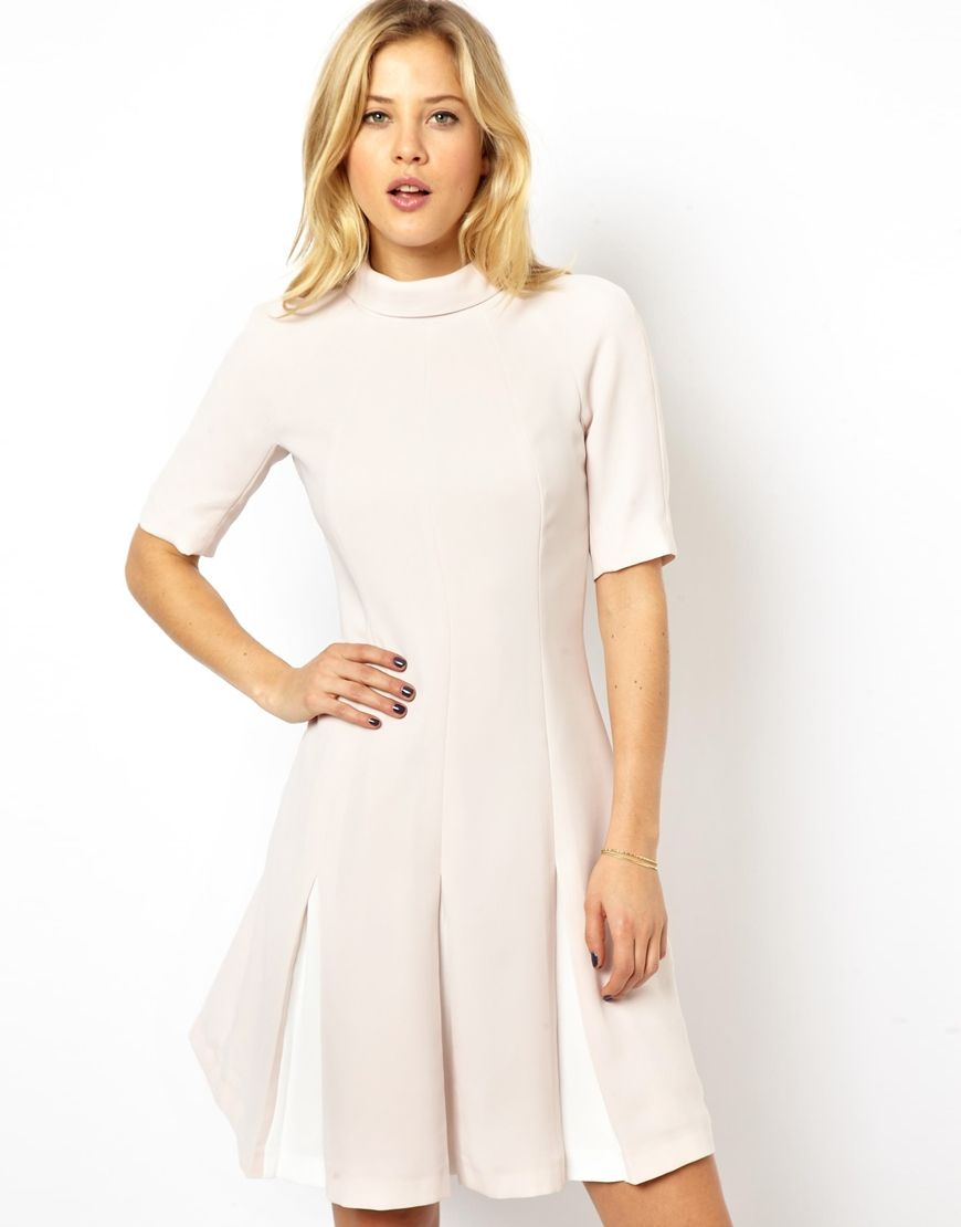 Image 1 of Ted Baker Dress with Pleated Skirt | Dress. Платье ...