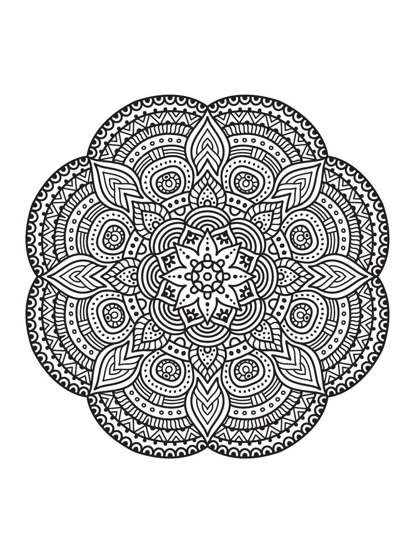 Mindfulness Mandalas N 3 Mindfulness Mandalas and Mandala
