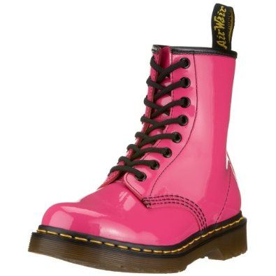 Amazon Com Dr Martens Women S 1460 Originals 8 Eye Lace Up Boot Shoes Combat Boots Style Pink Combat Boots Boots