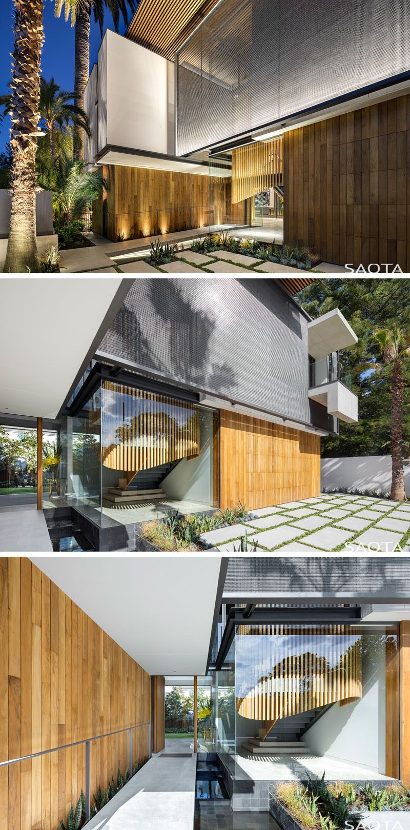 Bay window exterior designs  the double bay house by saota  cool ideas  pinterest  timber
