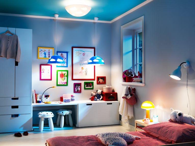 Google Image Result For Http Cdn2 Blogs Babble Com Family Style Files 2010 08 Pe271541 Jpg Kids Room Lighting Ikea Kids Room Toddler Bedroom Decor