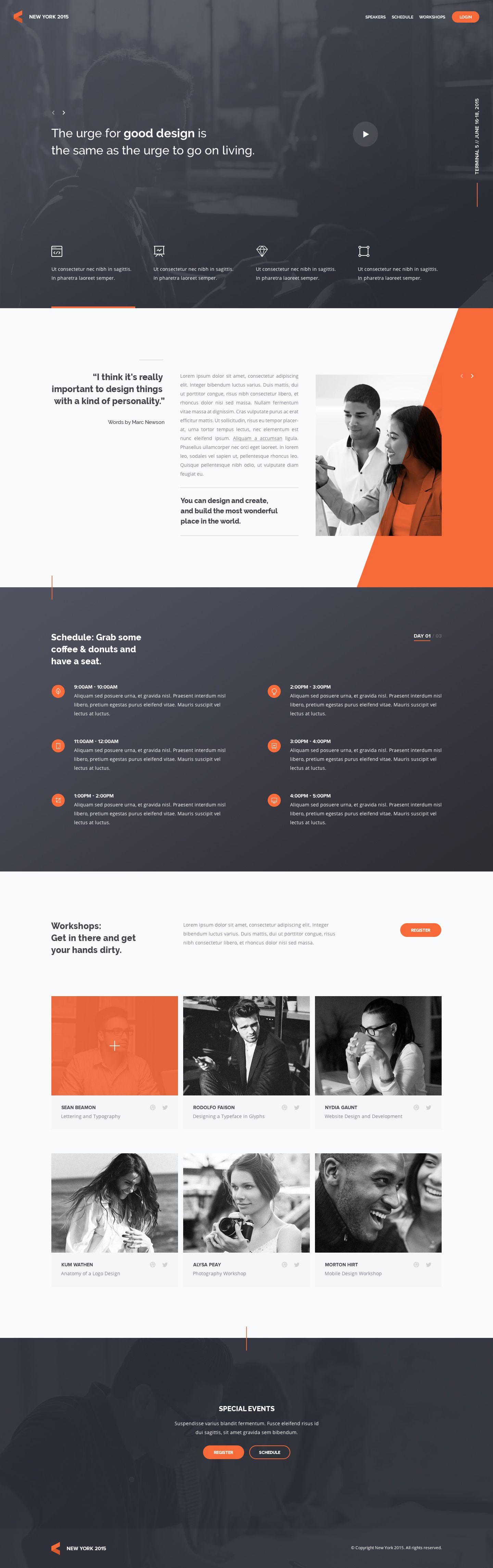 Homepage Jpg By Andrew Baygulov Web Design Web Layout Design Layout Design