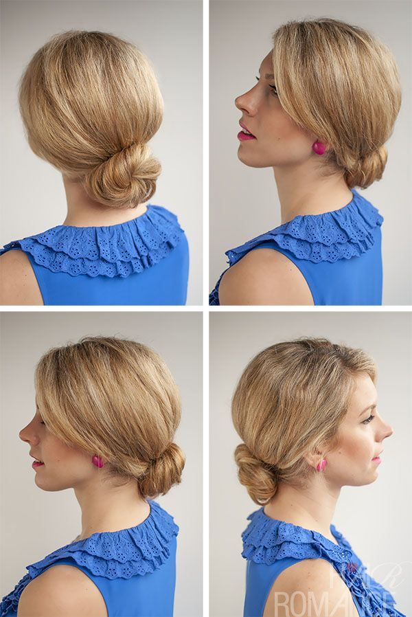 Enjoyable 1000 Images About Bun On Pinterest Bun Hairstyles Low Bun Hairstyle Inspiration Daily Dogsangcom