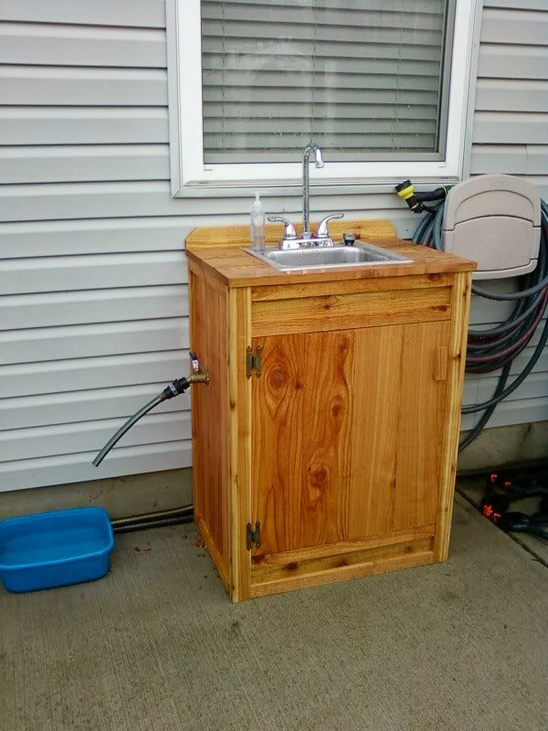 Delightful Ideas For Outdoor Sink??   Survivalist Forum