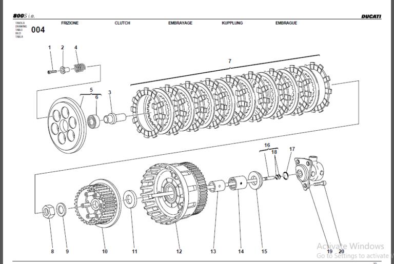 Ducati 800 2000 2006 Factory Service Repair Manual Download In 2020 Repair Manuals Ducati 800 Ducati