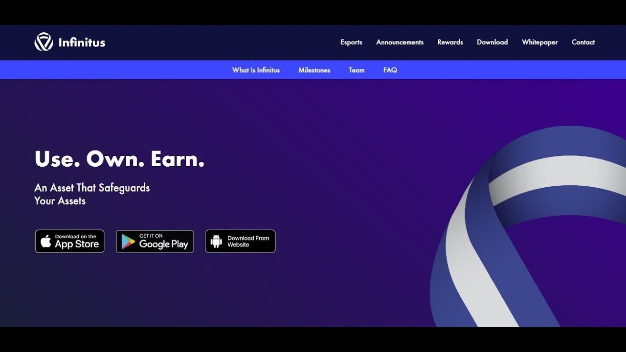 Exchange Listed Airdrop to get 4 INF Coin Infinitus